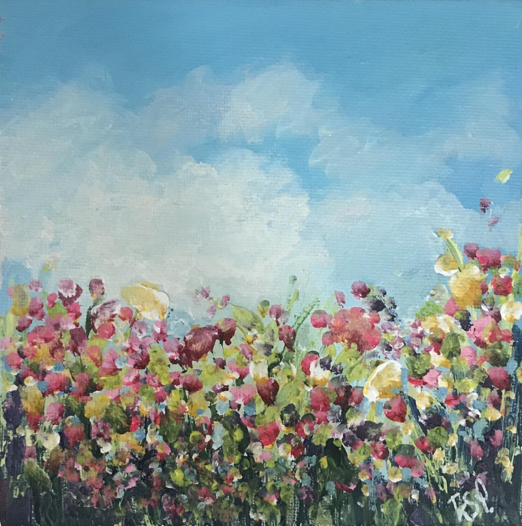 Flowering beneath the sky